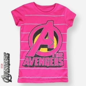 Marvel Avengers Novelty Graphic T-Shirt, Size XS